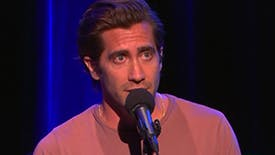 Watch Jake Gyllenhaal Perform a Monologue About Becoming a Father & Losing His Own From Broadway's Sea Wall/A Life