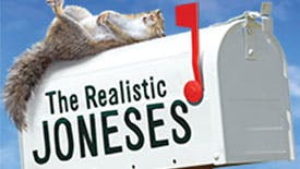 WTF? The Stars of The Realistic Joneses Explain The Play's Playful Poster