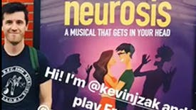 Go Behind the Scenes For the First Preview of Off-Broadway's Neurosis Musical with Kevin Zak