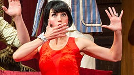Five Burning Questions with The Play That Goes Wrong Star Mara Davi