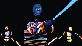 Mark Frankel Takes On Seven Questions All About the Iconic Blue Man Group