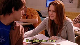It's October 3! 15 Timeless Mean Girls Movie GIFS For Tonight's 15th Anniversary Viewing Party with Tina Fey