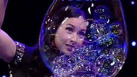 Melody Yang Brings The Gazillion Bubble Show to Live with Kelly & Ryan
