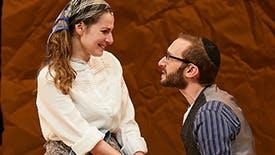 Fiddler on the Roof Duo Rachel Zatcoff & Ben Liebert Talk Creating Their Tsaytl & Motl, Working with Joel Grey & Why Yiddish Fiddler Feels So Immediate