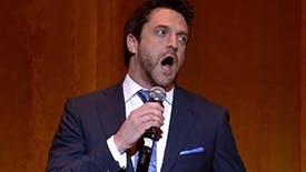 12 Absolutely Essential Videos of Road Show Star Raúl Esparza Singing His and Your Face Off