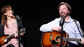 """Broadway Unplugged: Maggie Hollinbeck & Scott Wakefield Perform an Acoustic Cover of Jerry Garcia's """"Ripple"""" from the Musical Red Roses, Green Gold"""