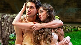 Robbie Simpson and Marina Shay Talk Bringing Adam & Eve to Life in Off-Broadway's Paradise Lost
