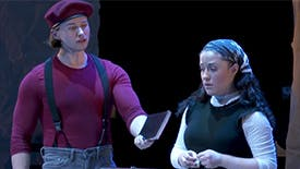 "Fiddler on the Roof Duo Rosie Jo Neddy & Cameron Johnson Talk About Their ""Dangerous"" Onstage Relationship and Why Fiddler Remains the Perfect Musical"