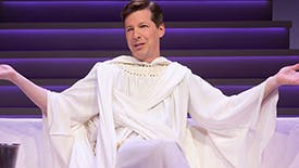 10 GIFs of Sean Hayes in An Act of God Perfect For Your Gchat & FB Convos