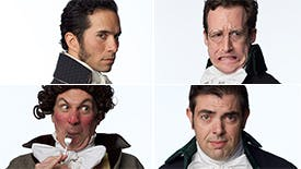 Get to Know the Mega-Talented and Wildly Funny Guys of Bedlam's Sense & Sensibility