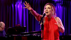 Waitress Star Shoshana Bean Performs Musical Numbers from Bridges, Funny Girl & Into the Woods For Her Broadway Bucket List