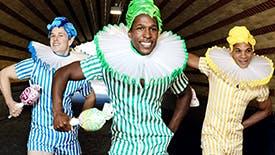 Spotlight on Broadway Celebrates Oz: Spencer Clark, Jamie Kasey Patterson, & Jaysin McCollum as The Lollipop Guild
