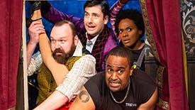 The Play That Goes Wrong Cast Sounds Off on Perfect Comedies, Epic Onstage Mishaps, Audience Interactions & Their Comedy Influences