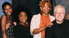 Spotlight on The Urchins of Off-Broadway's New Little Shop of Horrors, Ari Groover, Salome Smith, & Joy Woods