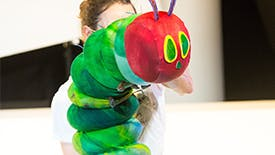 Here's What the Beloved Children's Book The Very Hungry Caterpillar Looks Like On Stage
