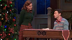 """Kick Off the Holiday Season with Bryce Pinkham & Lora Lee Gayer Singing """"White Christmas"""" from Holiday Inn"""