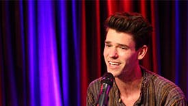 """Broadway Unplugged: Chris McCarrell & Rob Rokicki Perform Acoustic """"Good Kid"""" from The Lightning Thief"""