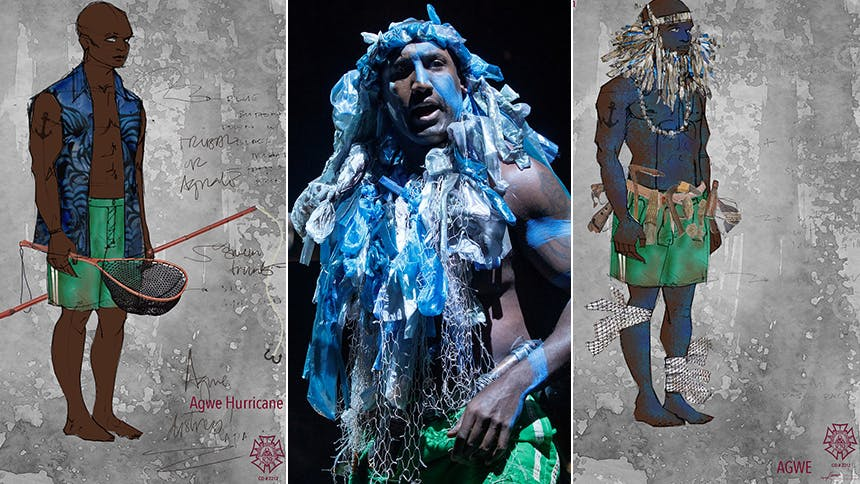 Tony Winner Clint Ramos Shares The Secrets Behind The Gods Costumes In Once On This Island The Daily Scoop