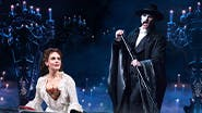 Meghan Picerno and Ben Crawford in The Phantom of the Opera