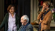Lucy Cohu, Eileen Atkins, Amanda Drew, Jonathan Pryce, and Lisa O'Hare in The Height of the Storm