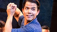 Telly Leung as Young Sam and the cast of 'Allegiance'