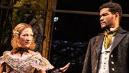 Annie McNamara and Sullivan Jones in Slave Play