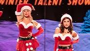 Krystina Alabado, Reneé Rapp, Kate Rockwell, and Erika Henningsen in Mean Girls
