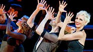 Amra-Faye Wright as Velma Kelly and the cast of  'Chicago'