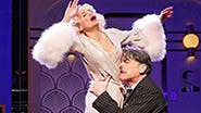 Kristin Chenoweth as Lily Garland and Peter Gallagher as Oscar Jaffe in 'On the 20th Century'