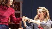 Ali Ahn as Susan Johnston, Leighton Bryan as Lisa & Elise Kibler as Denise in 'The Heidi Chronicles.'