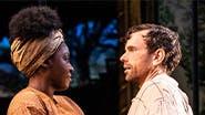 Joaquina Kalukango and Paul Alexander Nolan in Slave Play