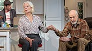 Ashley Park, Michael Urie, Jane Alexander and James Cromwell in Grand Horizons