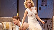 Andy Karl as Bruce Granit and Kristin Chenoweth as Lily Garland in 'On the 20th Century'