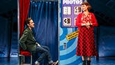 Adam Chanler-Berat as Nino and Phillipa Soo as Amelie in Amelie the Musical.