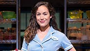 Alison Luff as Jenna in Waitress