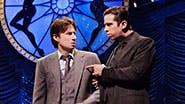 Zach Braff as David Shayne and Nick Cordero as Cheech in 'Bullets Over Broadway.'
