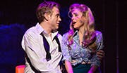 Adam Pascal as Chad and Kerry Butler as Marianne in Disaster!