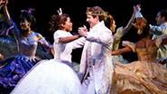 Keke Palmer as Ella and Joe Carroll as Prince Topher in 'Cinderella'