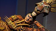 Gareth Saxe as Scar in The Lion King.