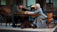 Gabriel Byrne as James Tyrone and Jessica Lange as Mary Tyrone in Long Day's Journey Into Night