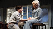 John Gallagher Jr. as Edmond Tyrone and Jessica Lange as Mary Tyrone in Long Day's Journey Into Night