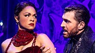 Karen Olivo as Satine and Tam Mutu as The Duke of Monroth in Moulin Rouge! The Musical