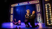 Brandon Haagenson, David Hanbury and Ken Lear in Mrs. Smith's Broadway Cat-tacular!