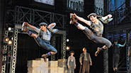 The newsboys of Newsies.