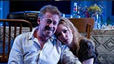 Richard Roxburgh and Cate Blanchette in The Present on Broadway