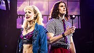 Kirsten Scott and CJ Eldred in Rock of Ages