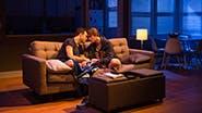 Jake Epstein as Ben and Thomas E. Sullivan as Chris in Straight