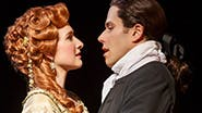 Erin Mackey as Mary and Josh Young as John in 'Amazing Grace'