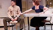Jonny Orsini as Johnny and Karen Ziemba as Grace in 'Almost Home'