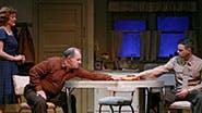 Karen Ziemba as Grace, Joe Lisi as Harry, Jonny Orsini as Johnny  in 'Almost Home'